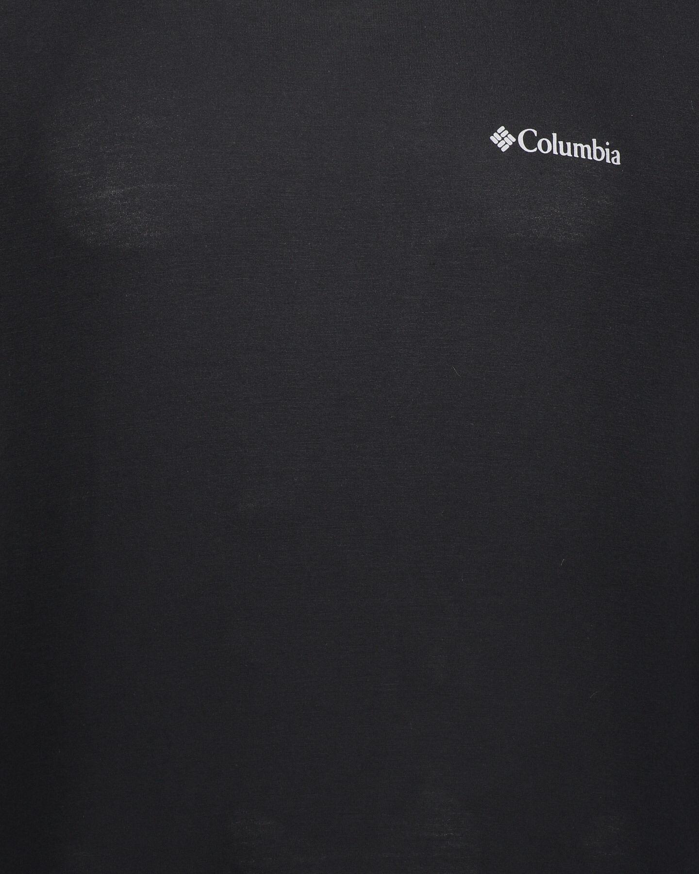 T-Shirt COLUMBIA MAXTRAIL LOGO M S5291366 scatto 2