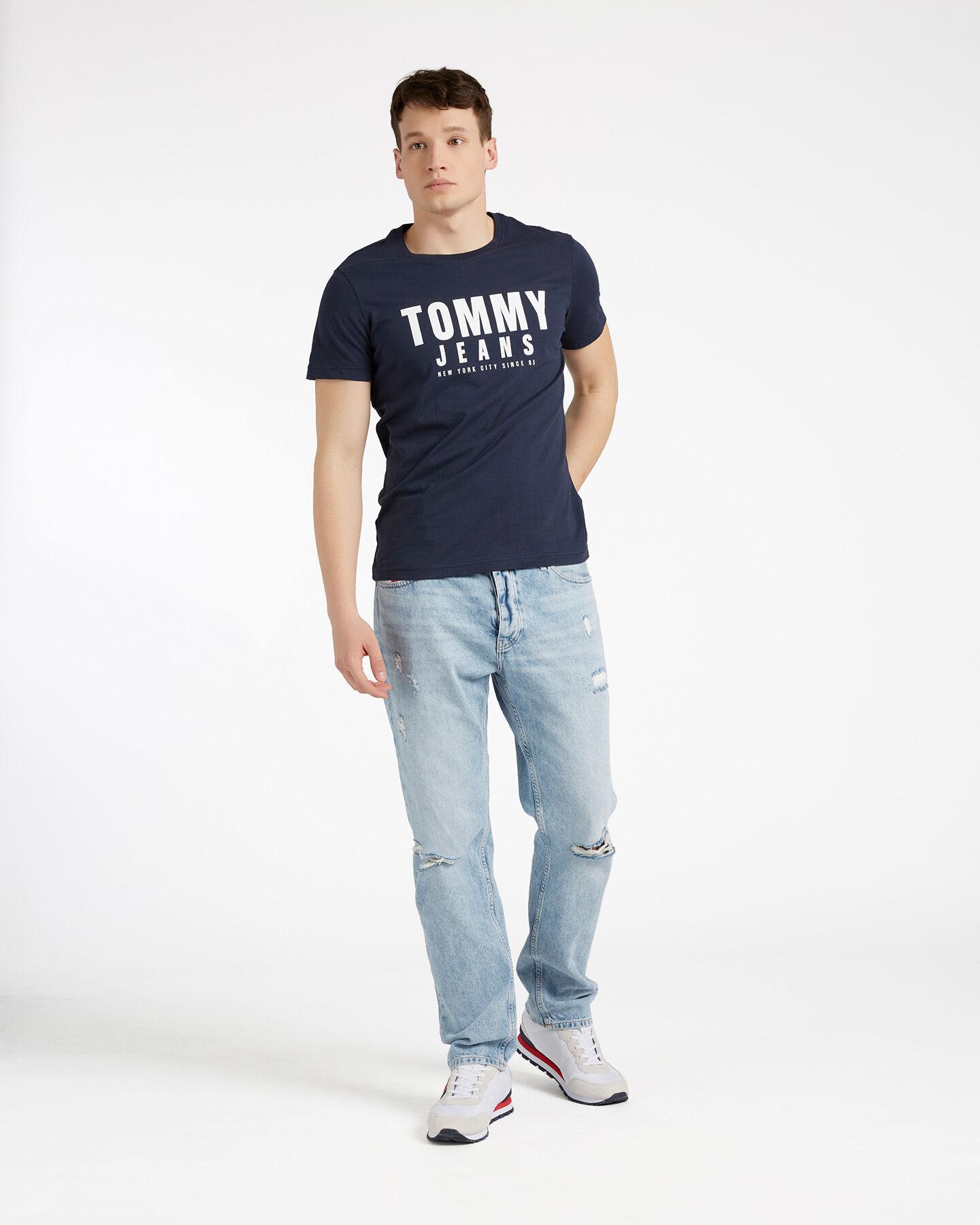T-Shirt TOMMY HILFIGER CHEST BIG LOGO M S4088729 scatto 1