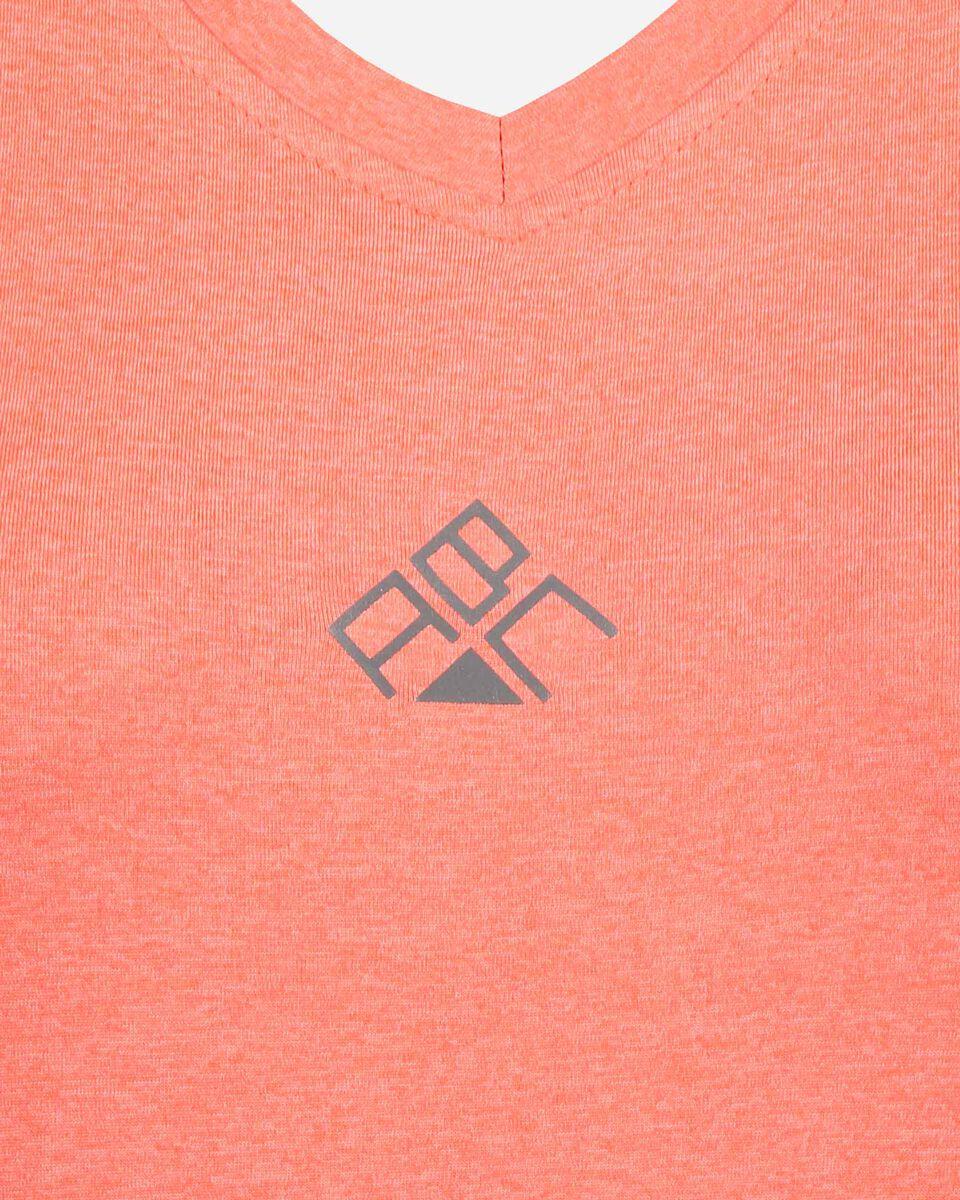 T-Shirt running ABC V-NECK RUN W S4074562 scatto 2