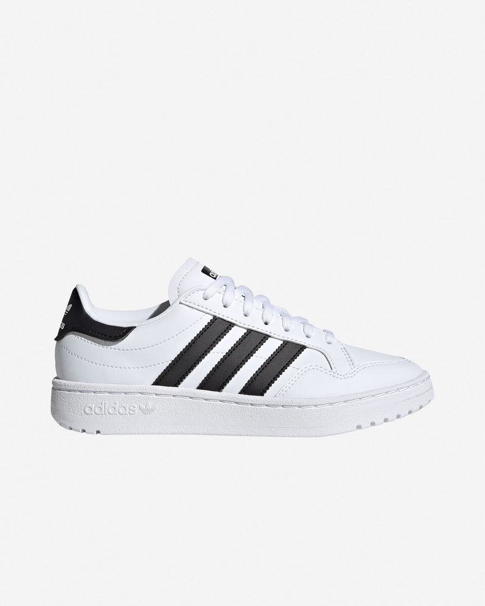 Scarpe sneakers ADIDAS TEAM COURT GS JR S5151727 scatto 0