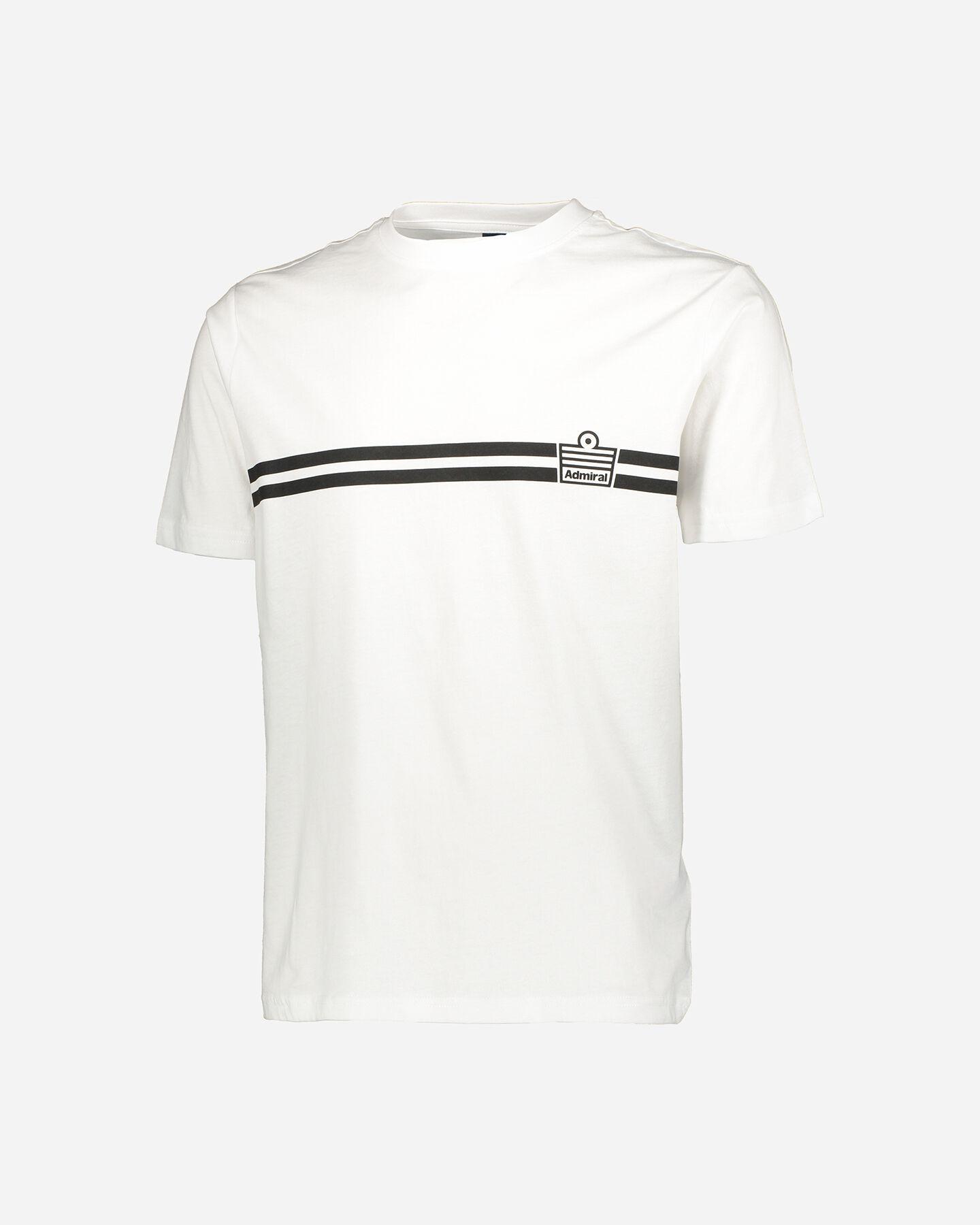 T-Shirt ADMIRAL SMALL LOGO M S4086970 scatto 0