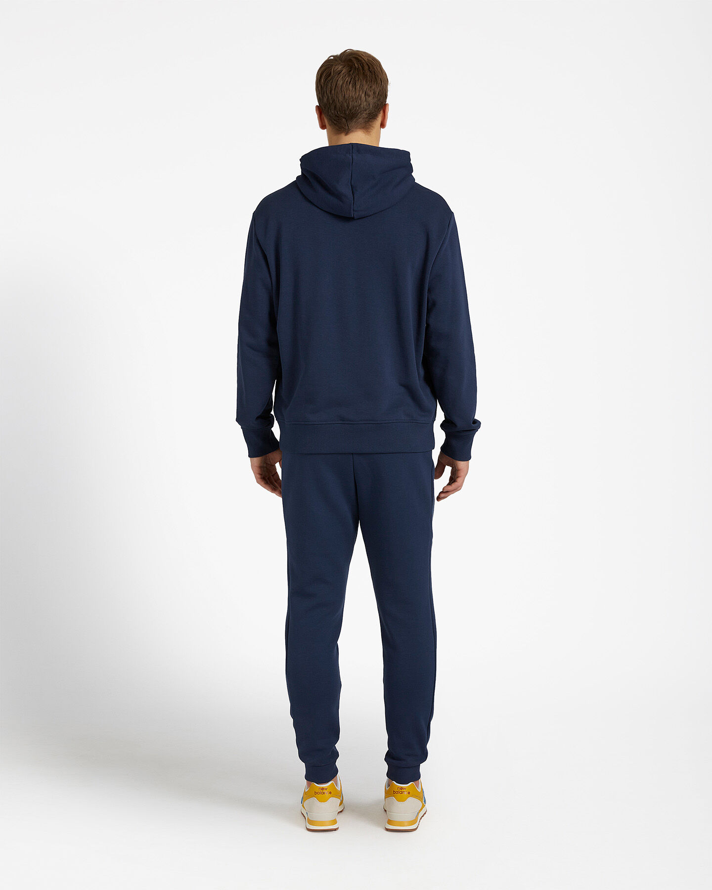 Felpa NEW BALANCE ICON HOODIE M S5166320 scatto 2