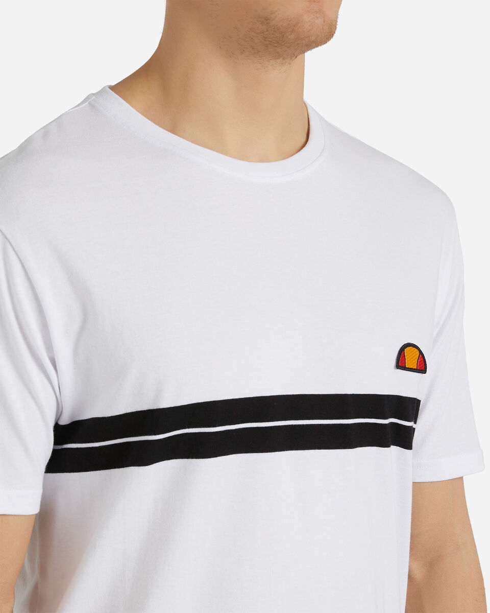 T-Shirt ELLESSE STRIPES M S4088418 scatto 4