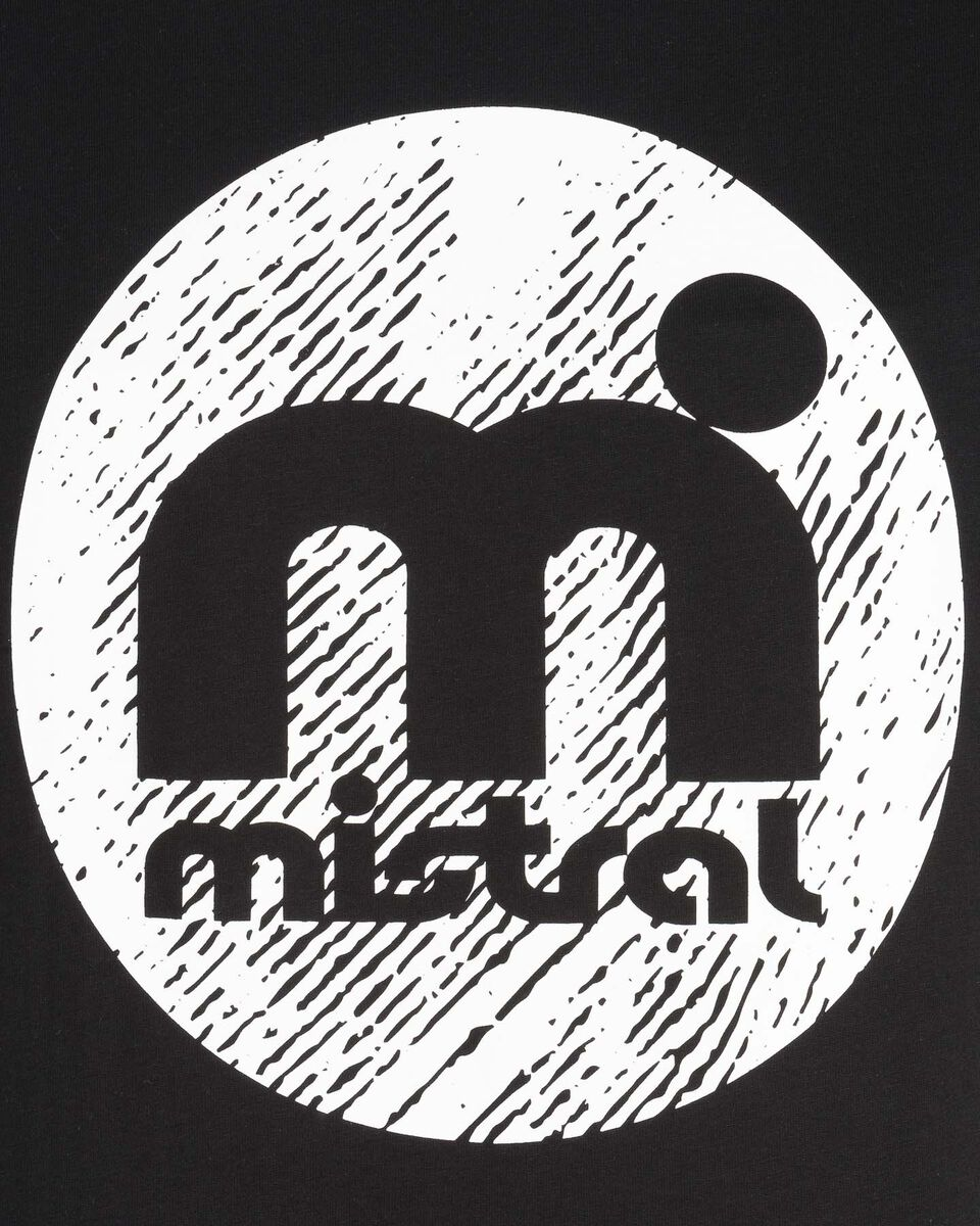 T-Shirt MISTRAL LOGO M S4067428 scatto 2