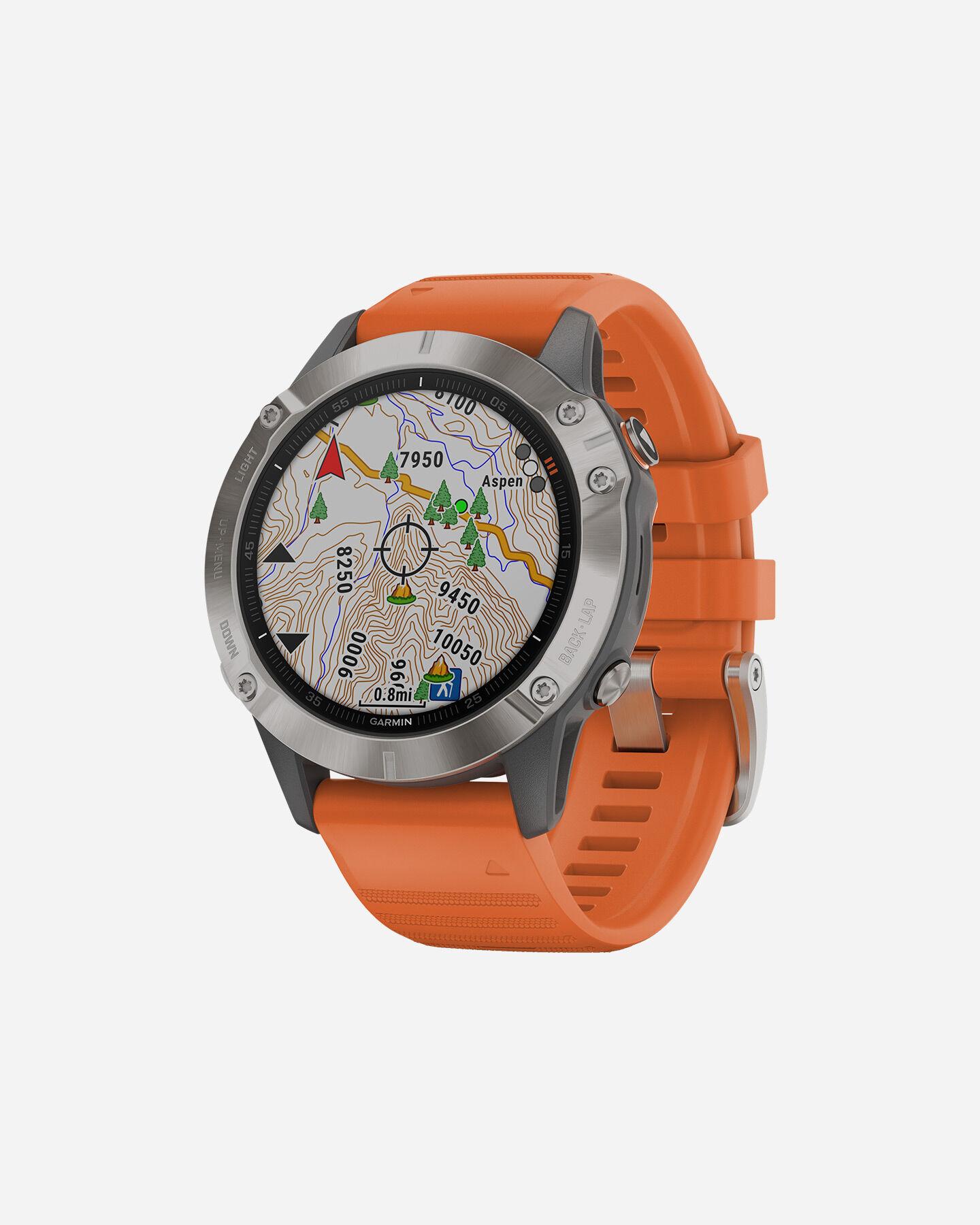 Orologio multifunzione GARMIN FENIX 6 SAPPHIRE TITANIUM S4076557|14|UNI scatto 2