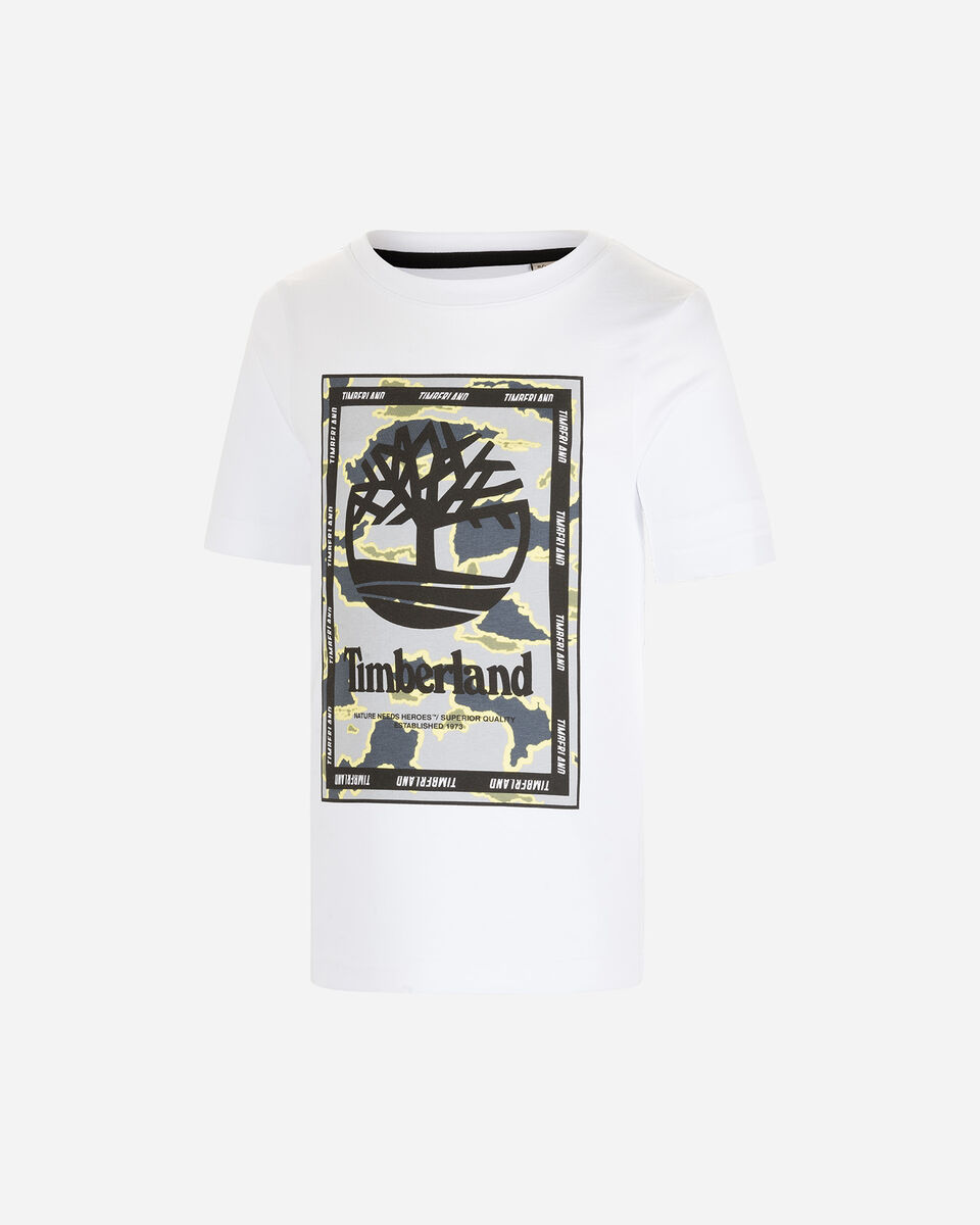 T-Shirt TIMBERLAND PLOGO TREE GRAPHIC JR S4088884 scatto 0