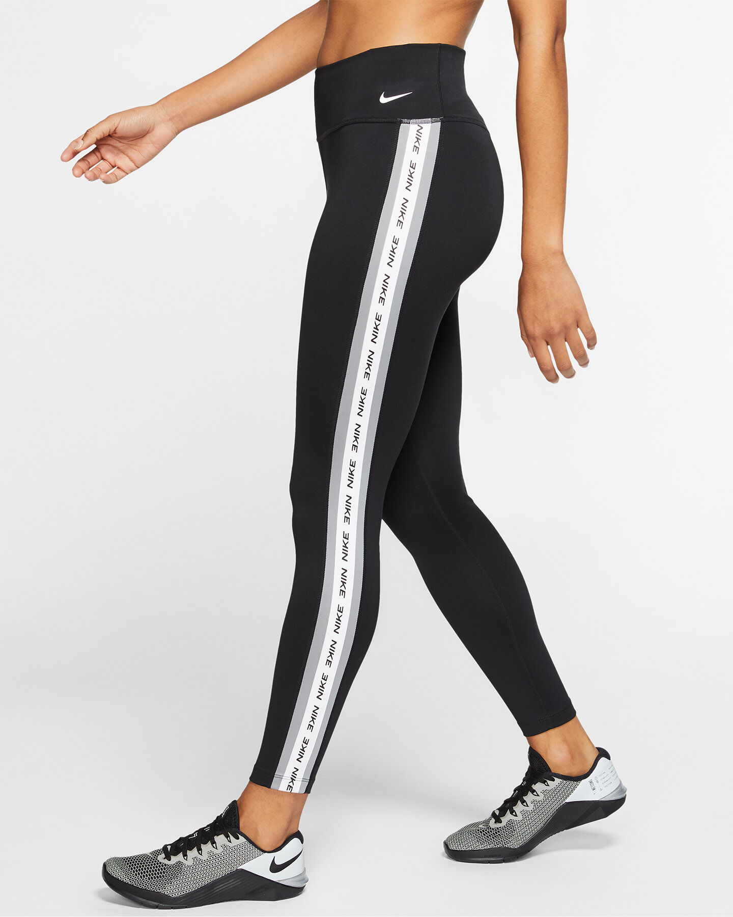 Leggings NIKE ONE 7/8 TAPE W S5172994 scatto 4