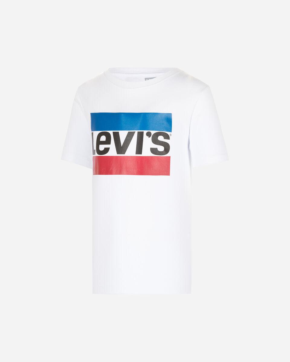 T-Shirt LEVI'S STRIPE JR S4076439 scatto 0