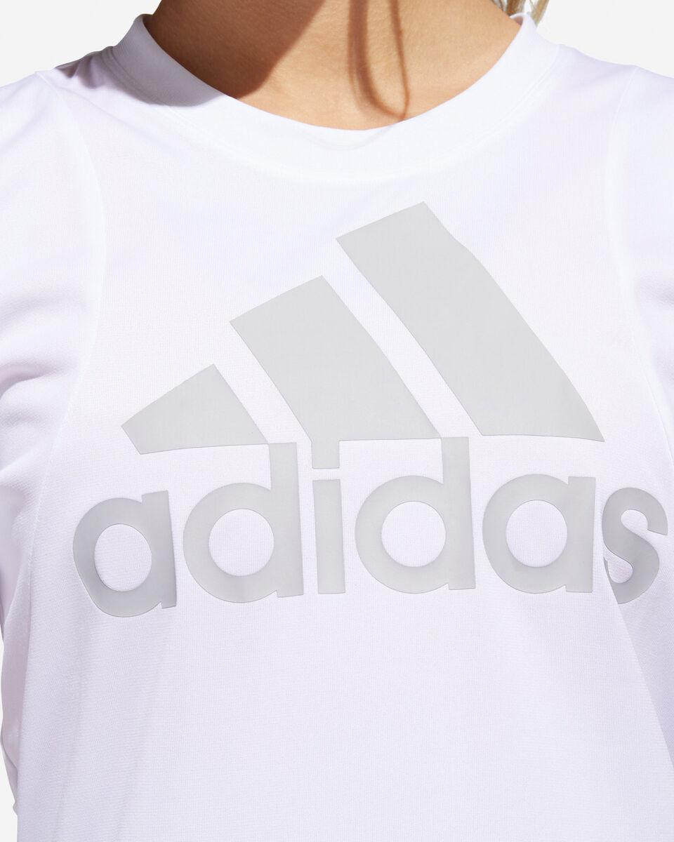 T-Shirt training ADIDAS BIG LOGO W S5216580 scatto 5