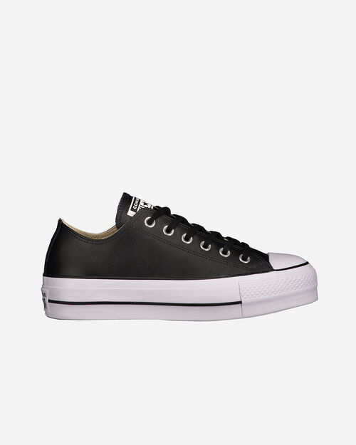 Scarpe sneakers CONVERSE ALL STAR PLATFORM LEATHER OX W