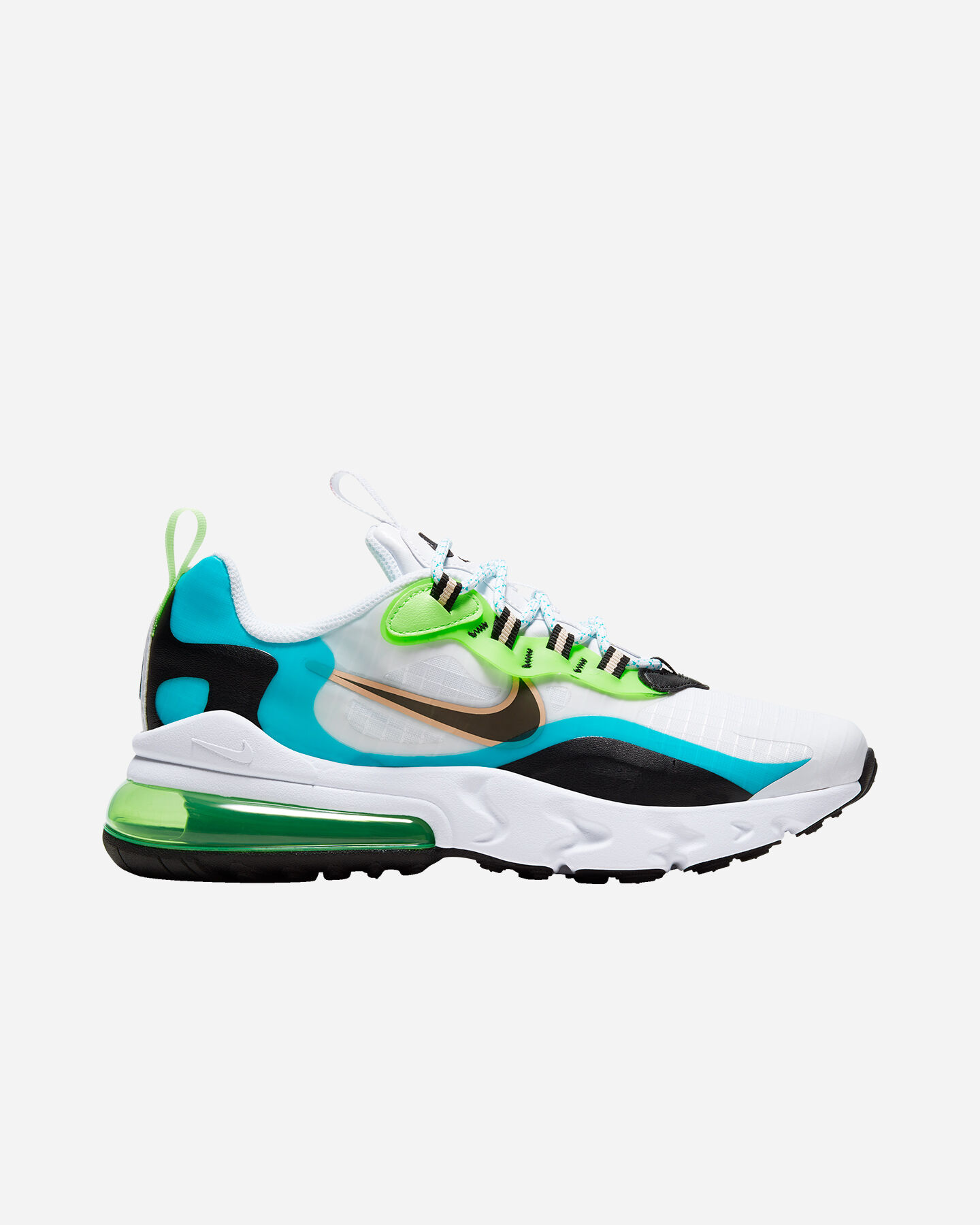 Scarpe sneakers NIKE AIR MAX 270 REACT SE JR GS S5194693 scatto 0