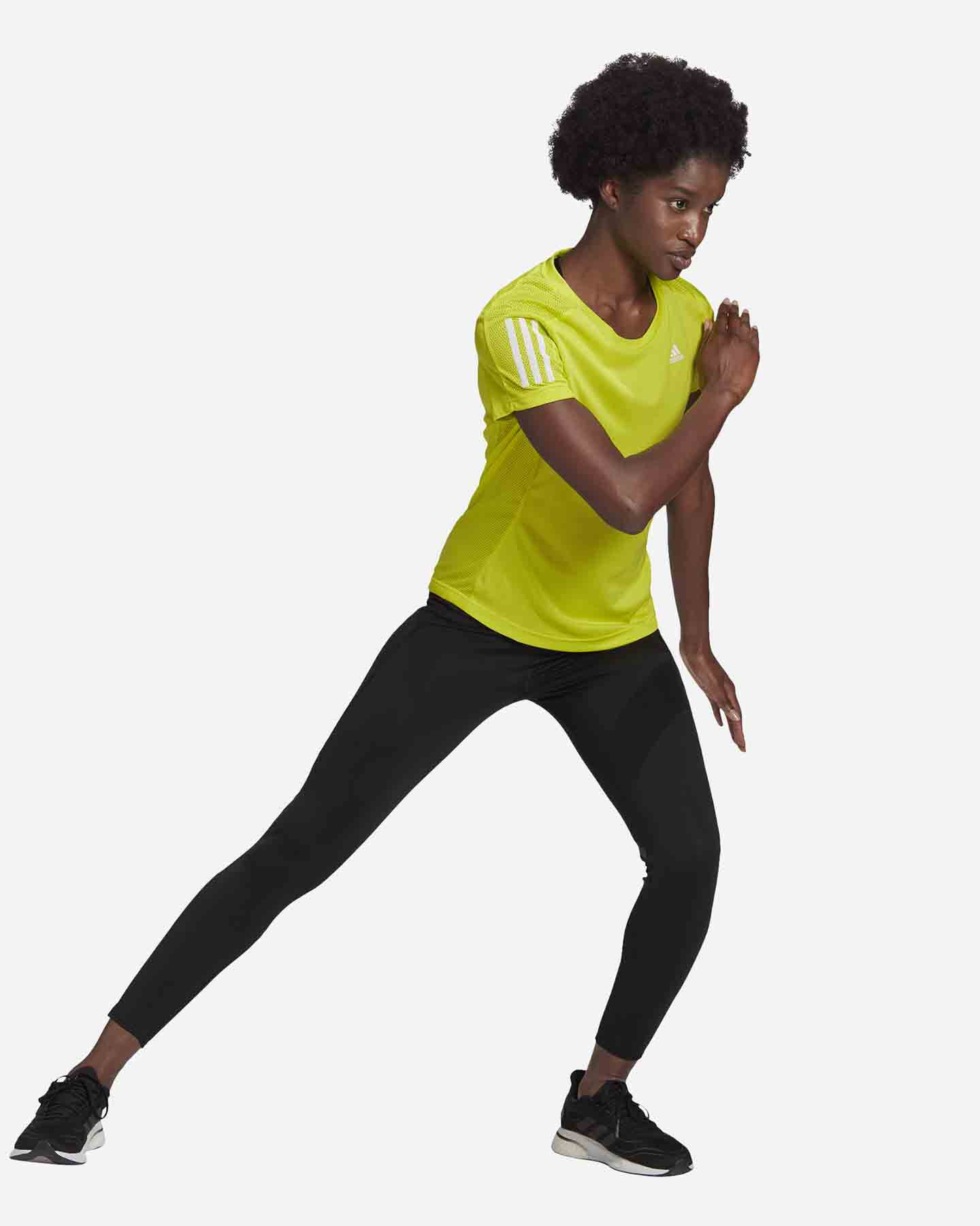 T-Shirt running ADIDAS OWN THE RUN W S5273953 scatto 3