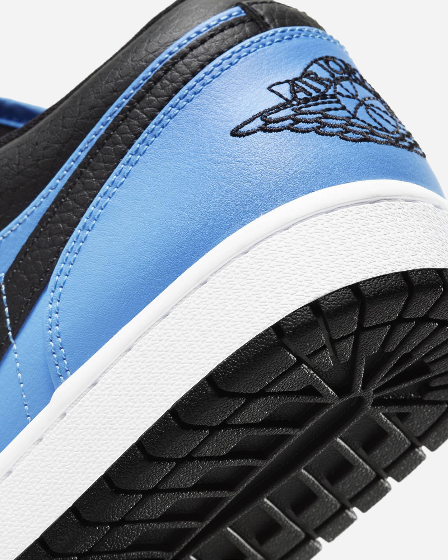 Scarpe sneakers NIKE AIR JORDAN 1 LOW M S5270337 scatto 5