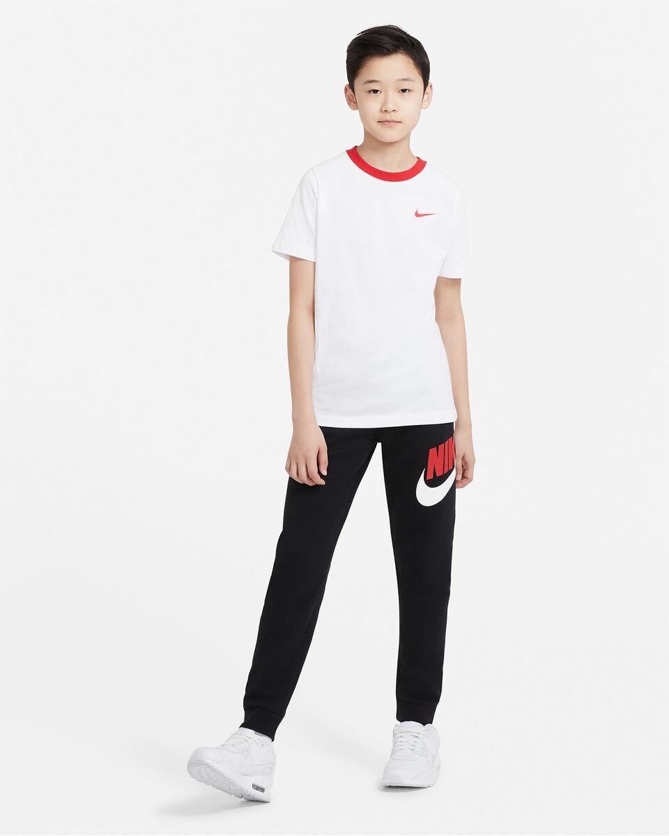 T-Shirt NIKE BIG SWOOSH BACK JR S5270253 scatto 3