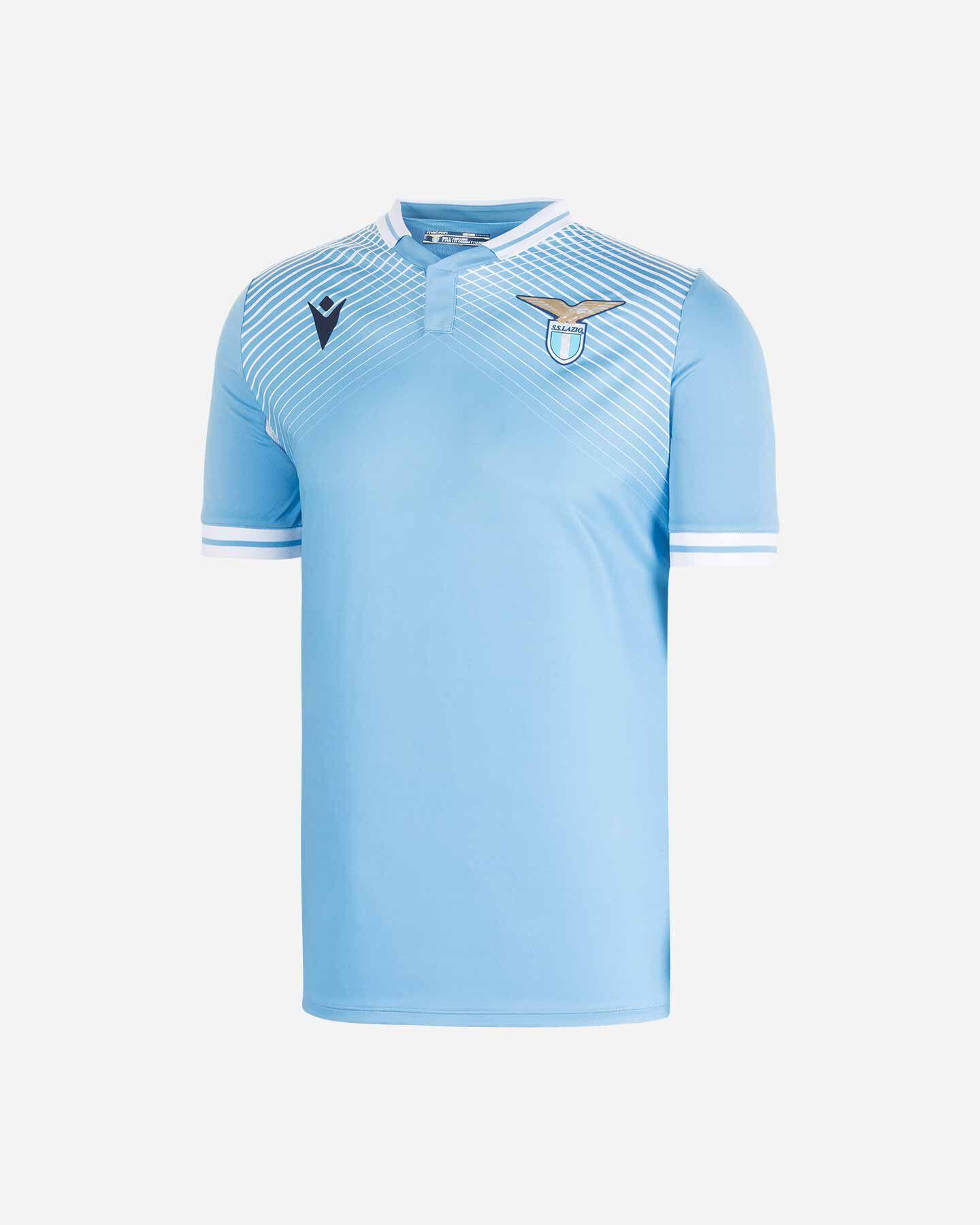 Maglia Calcio Macron Lazio Home 20-21 M 58116271 | Cisalfa Sport