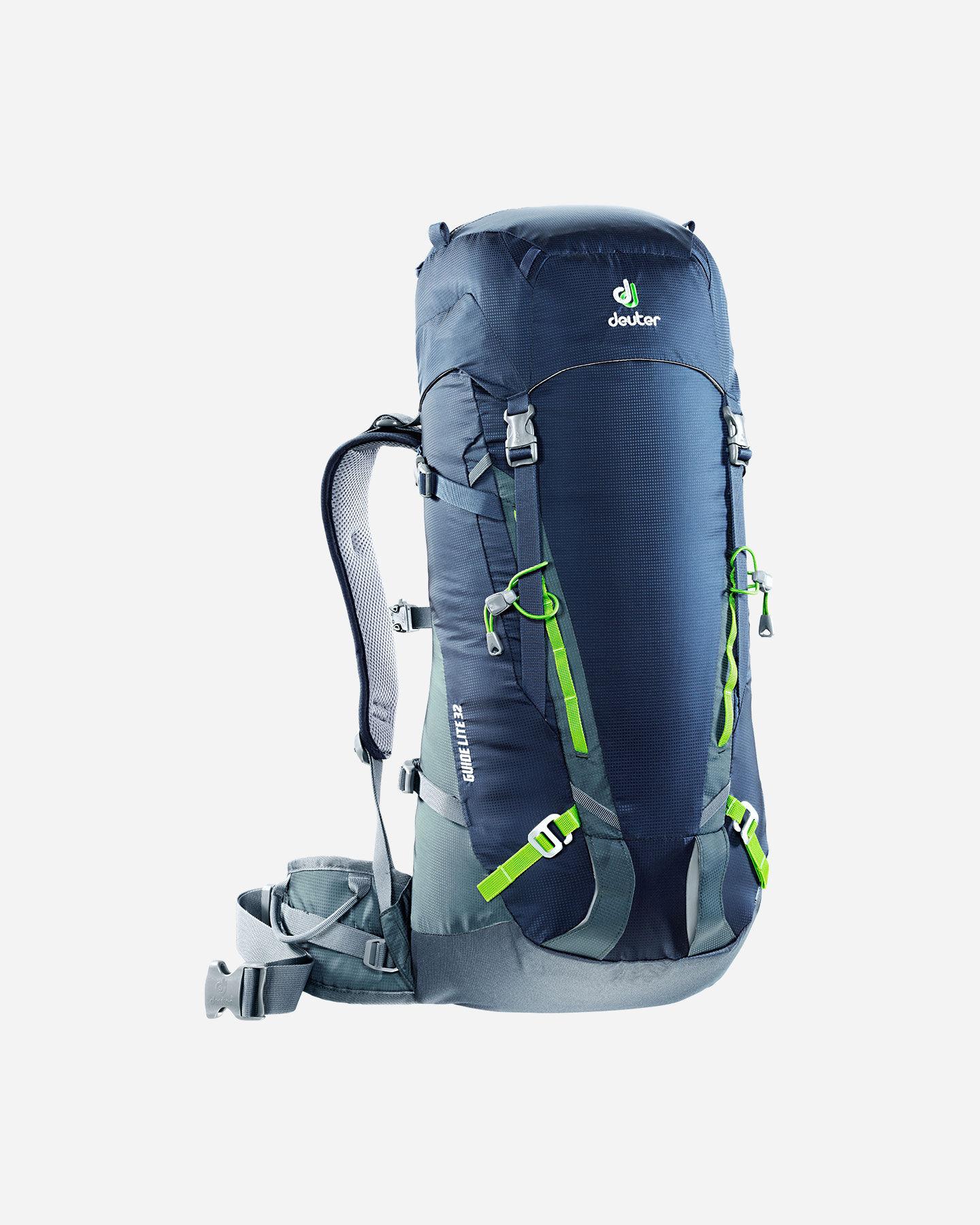 Zaino alpinismo DEUTER GUIDE LITE 32 S4012945 3400 UNI scatto 0