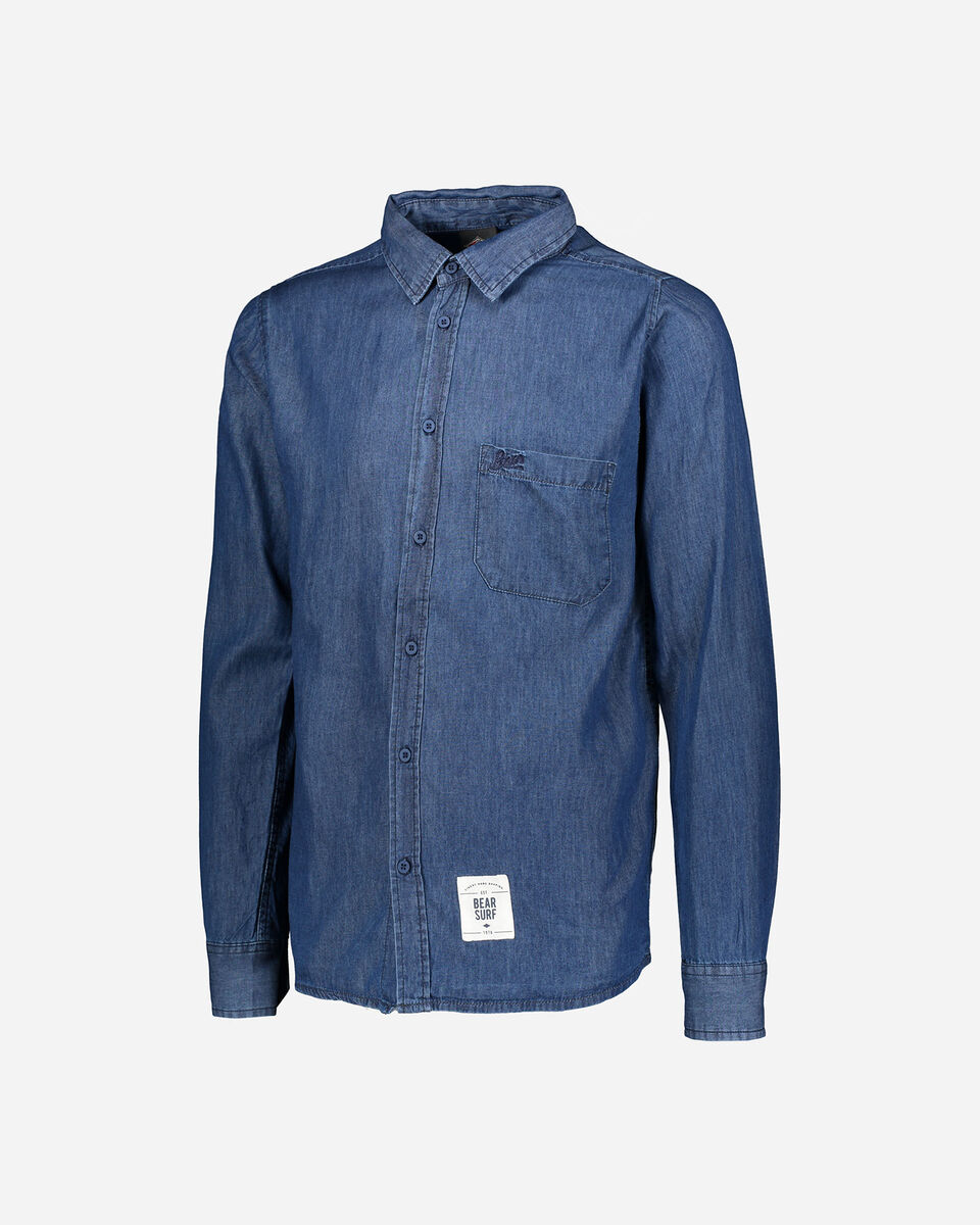 Camicia BEAR DENIM M S4070898 scatto 0