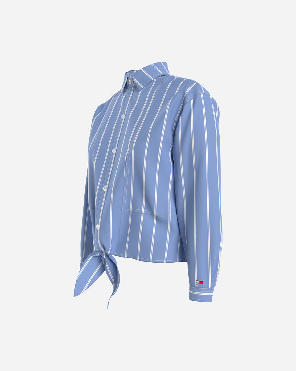 Camicia TOMMY HILFIGER STRIPED W S4089060 scatto 1