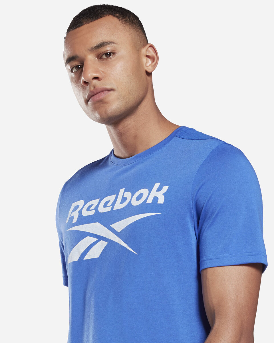 T-Shirt training REEBOK WORKOUT GRAPHIC M S5280252 scatto 4