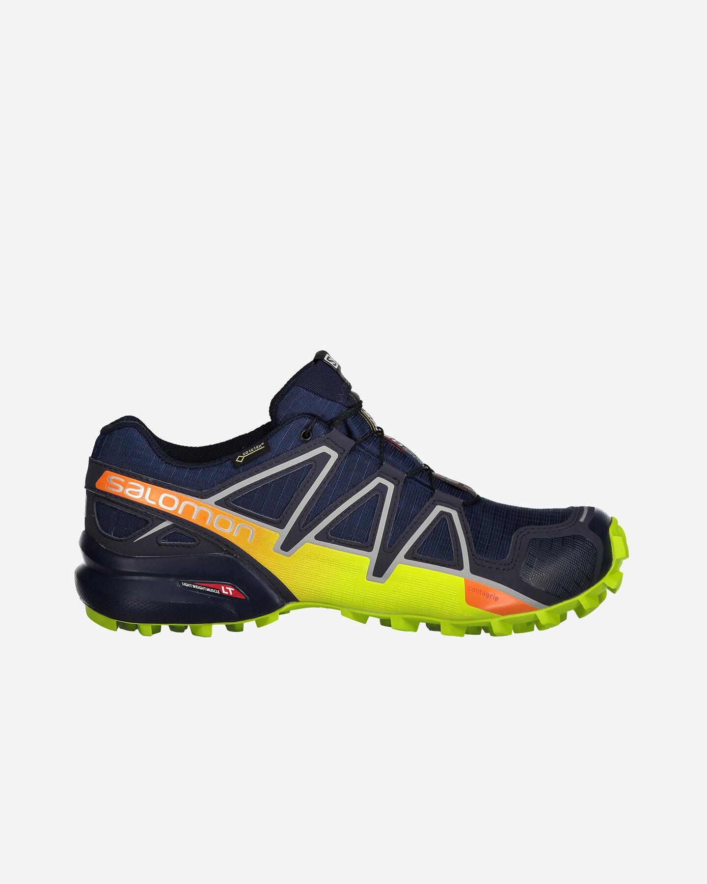 Salomon Su Gtx Sport 4 L40093800 Scarpe Cisalfa Speedcross M Trail 6BwvWAq6