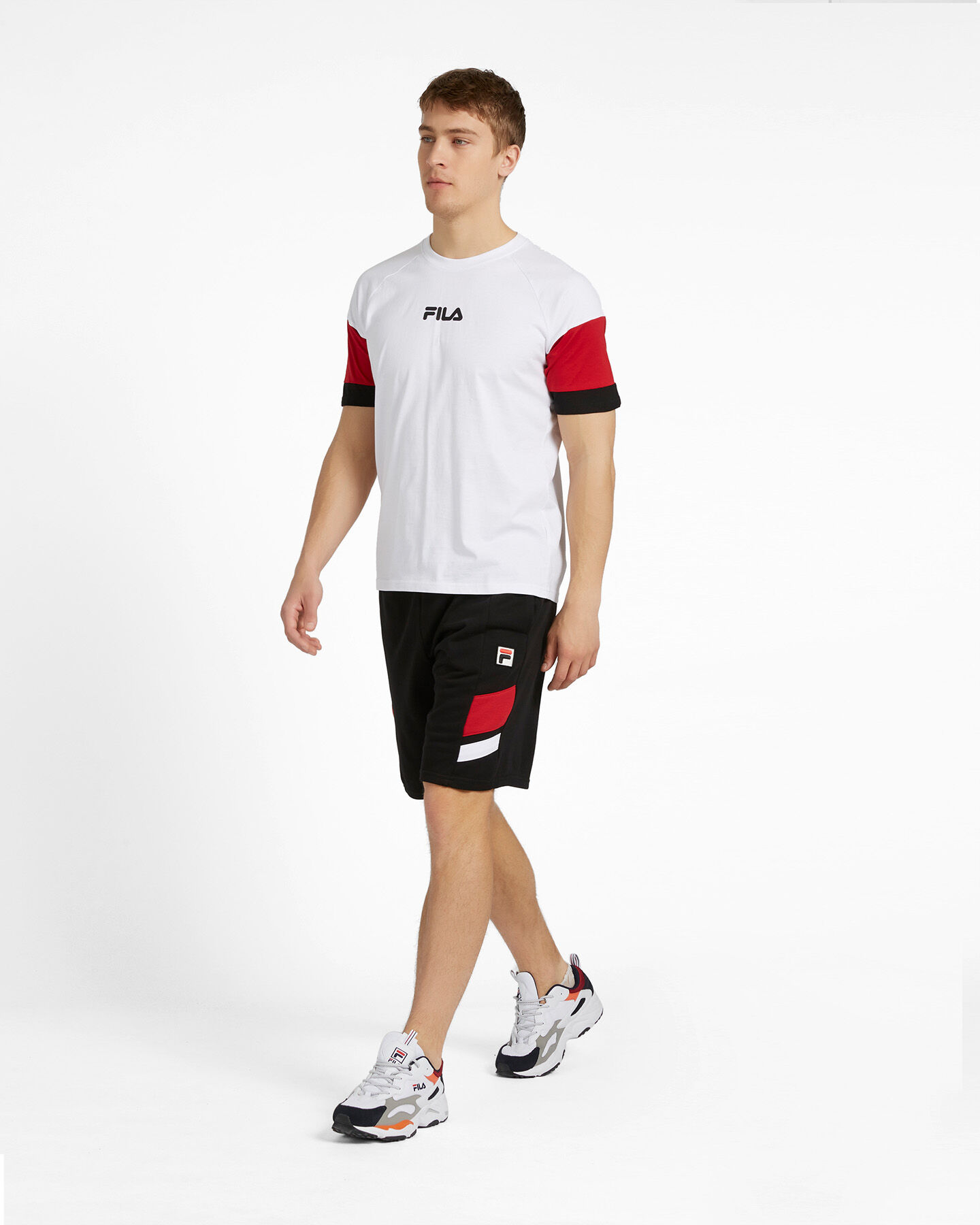 T-Shirt FILA NEW COLOR BLOCK M S4088467 scatto 3