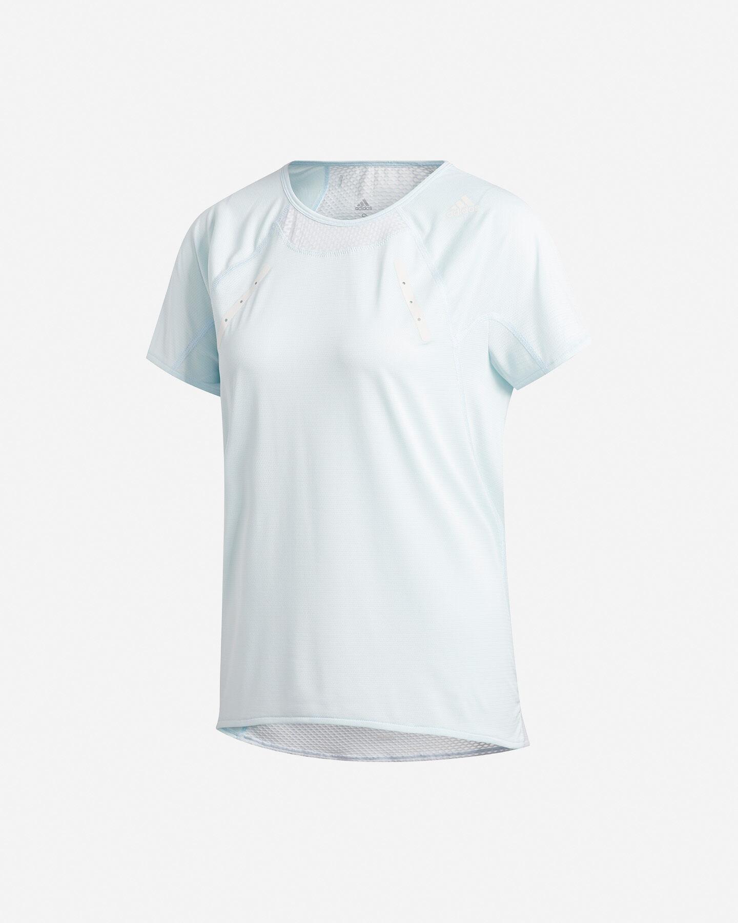 T-Shirt running ADIDAS HEAT.RDY W S5154889 scatto 0