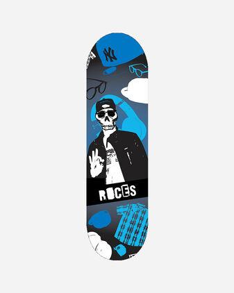 """Skateboard ROCES 24"""" SKULL BOY JR"""