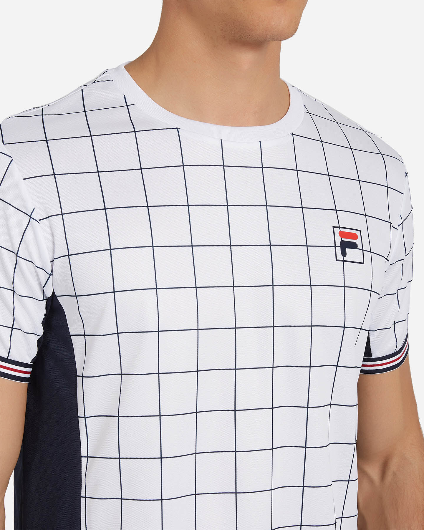 T-Shirt tennis FILA TENNIS HERITAGE M S4075791 scatto 4
