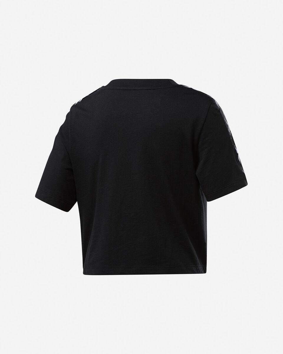 T-Shirt REEBOK TAPE LOGO W S5258650 scatto 1