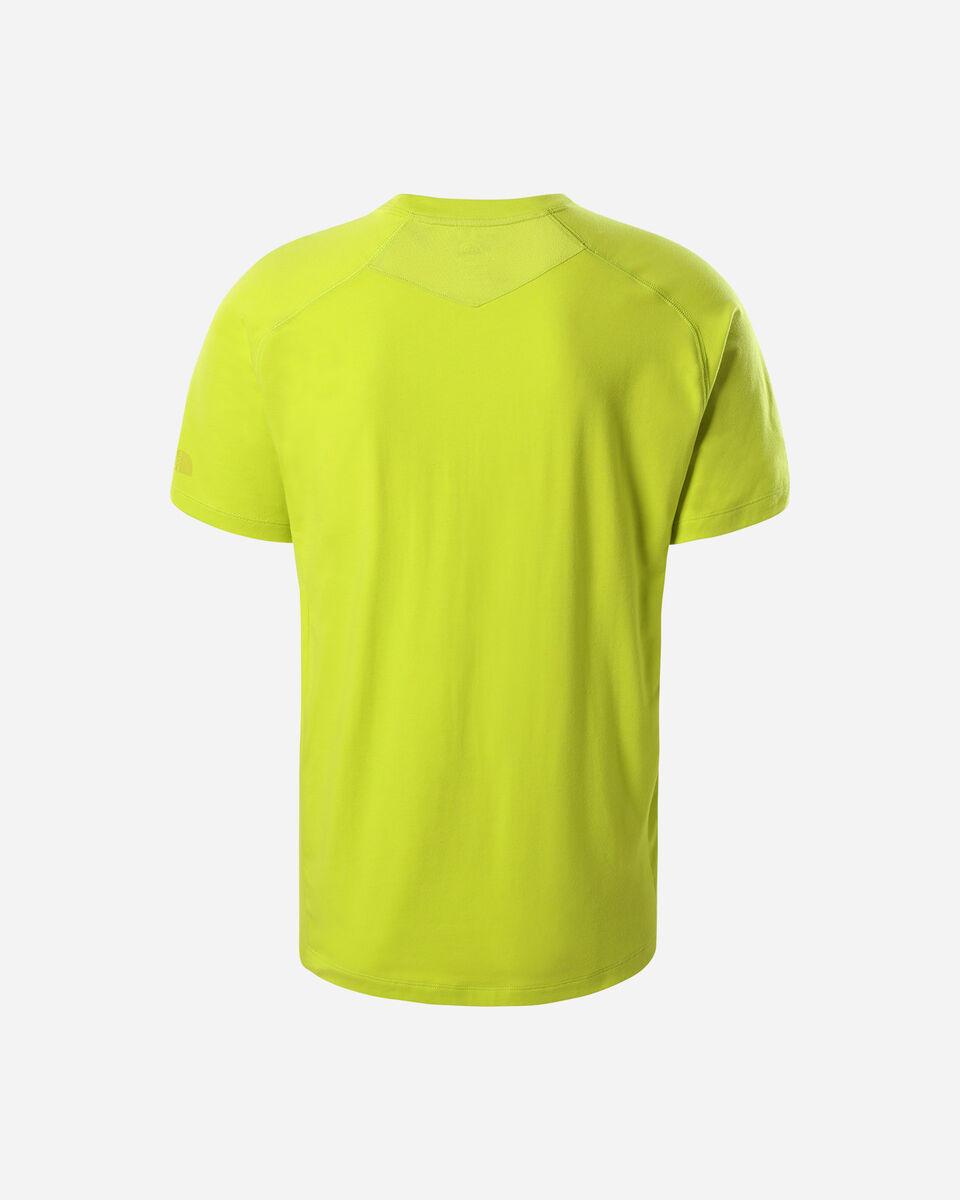 T-Shirt THE NORTH FACE WICKER MID GRAPHIC CREW M S5292342 scatto 1
