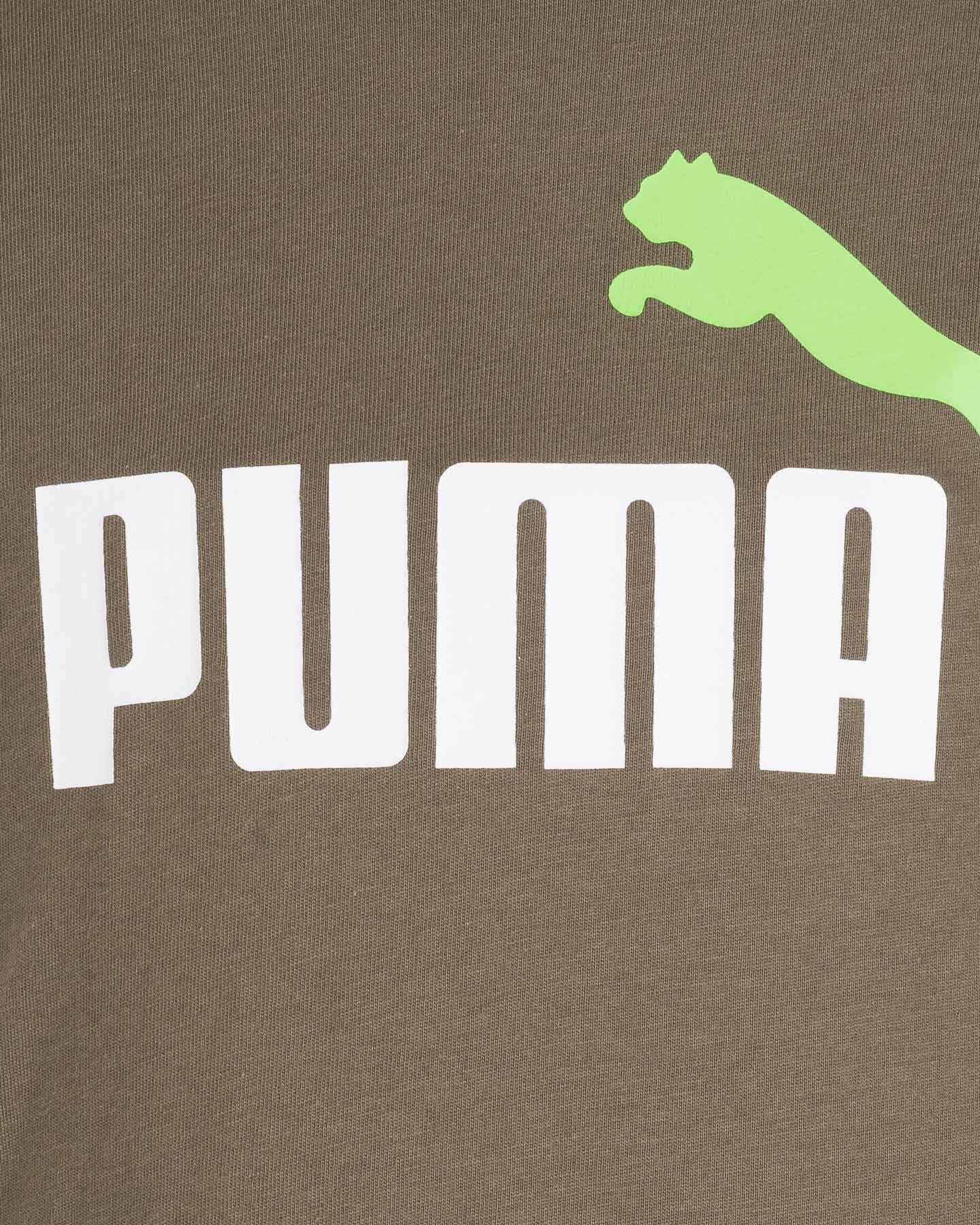 T-Shirt PUMA FLASH JR S5333999 scatto 2
