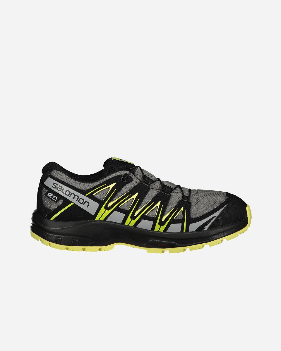 Scarpe trail SALOMON XA PRO 3D CSWP JR S5240605 scatto 0
