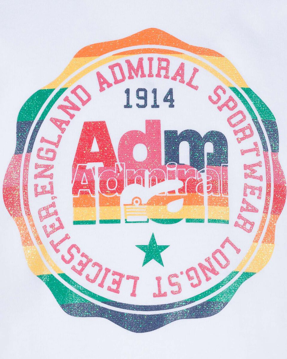 T-Shirt ADMIRAL CROP JR S4075521 scatto 2