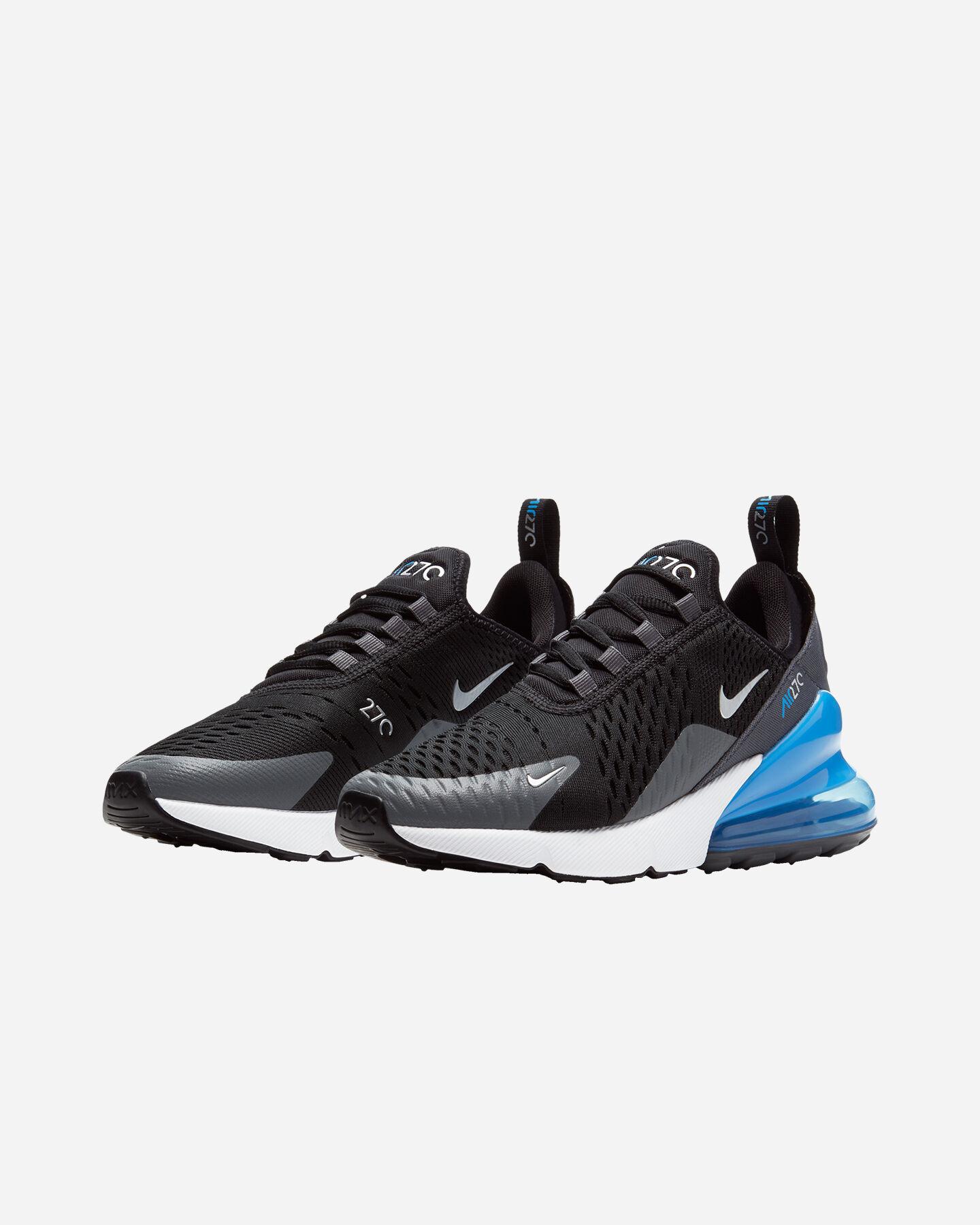 Scarpe sneakers NIKE AIR MAX 270 GS JR S5262340 scatto 1