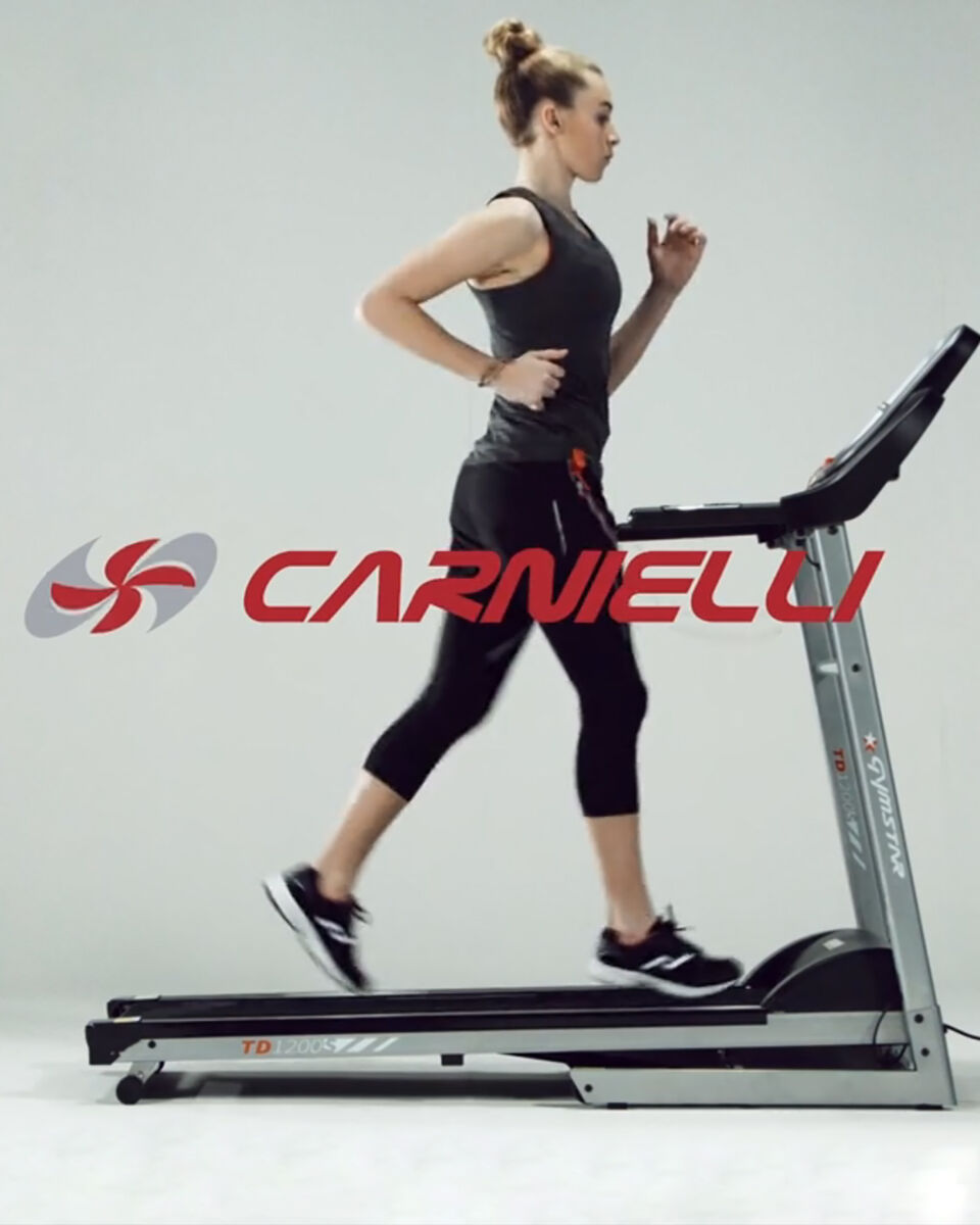 Tapis roulant CARNIELLI GYMSTAR TD 1200S S4031139|1|UNI scatto 3