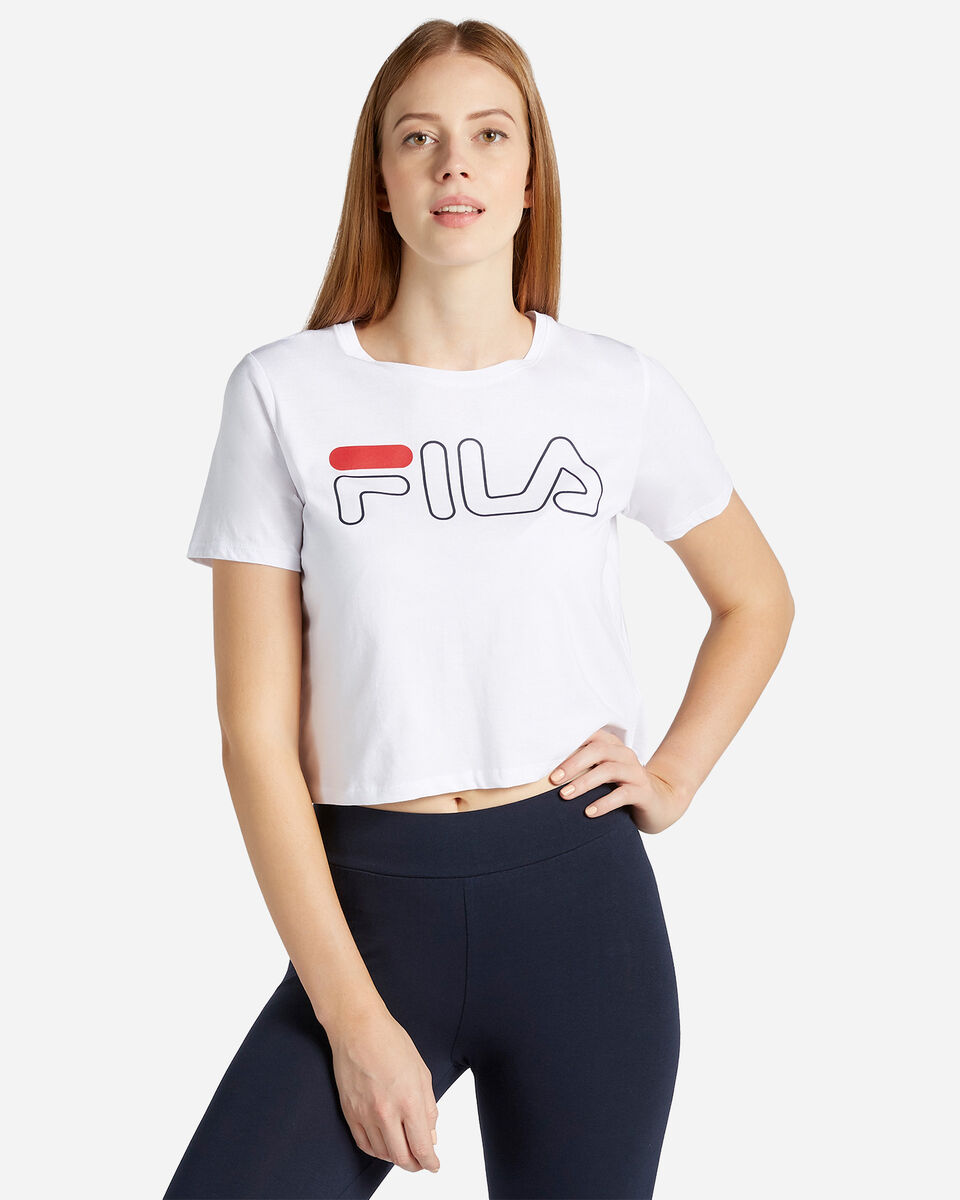 T-Shirt FILA LOGO W S4067230 scatto 0