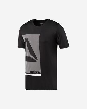 T-Shirt training REEBOK WORKOUT PREMIUM GRAPHIC M