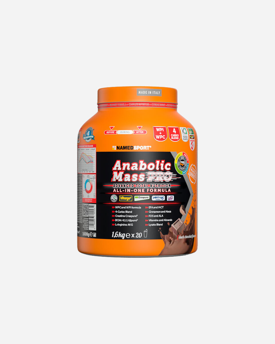 Energetico NAMED SPORT ANABOLIC MASS PRO 1600G S4033470 1 UNI scatto 0