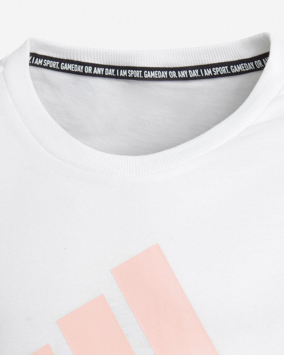 T-Shirt ADIDAS B-LOG JR S5211780 scatto 2