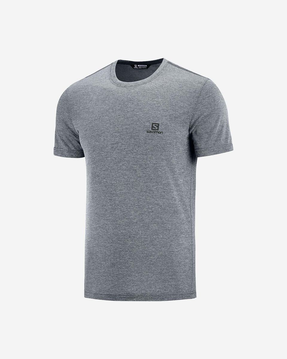T-Shirt SALOMON EXPLORE PIQUE M S5173794 scatto 0