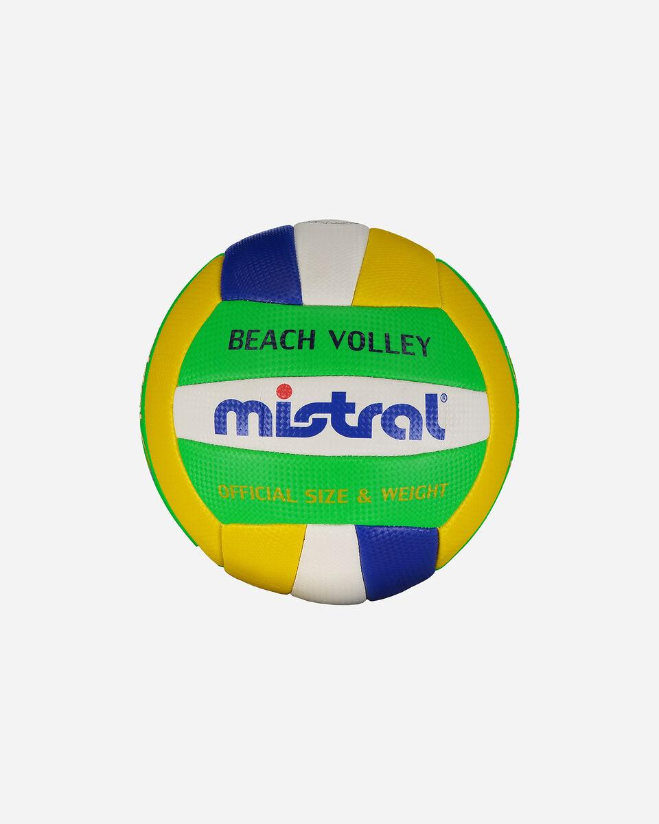 Pallone volley MISTRAL BEACH VOLLEY BRASILE MIS.4 S4037255 1 UNI scatto 0