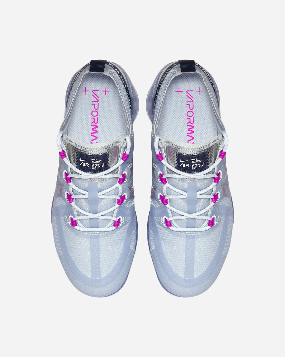 Scarpe sneakers NIKE AIR VAPORMAX 2019 W S5078325 scatto 3