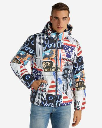 Giubbotto TOMMY HILFIGER PATTERNED FLAG M