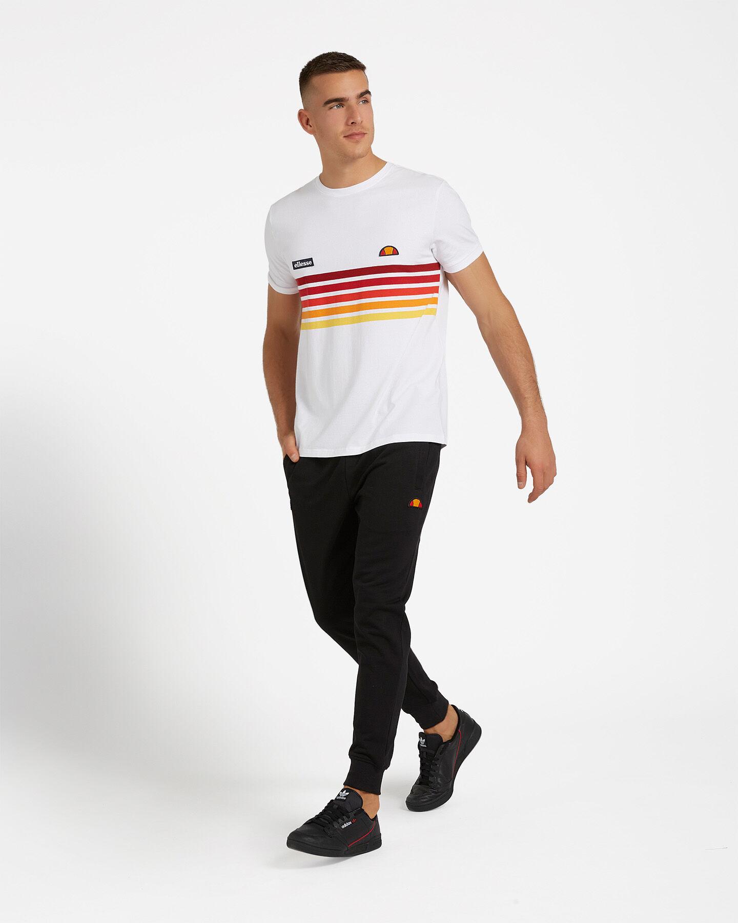T-Shirt ELLESSE RAINBOW STRIPES M S4073850 scatto 3
