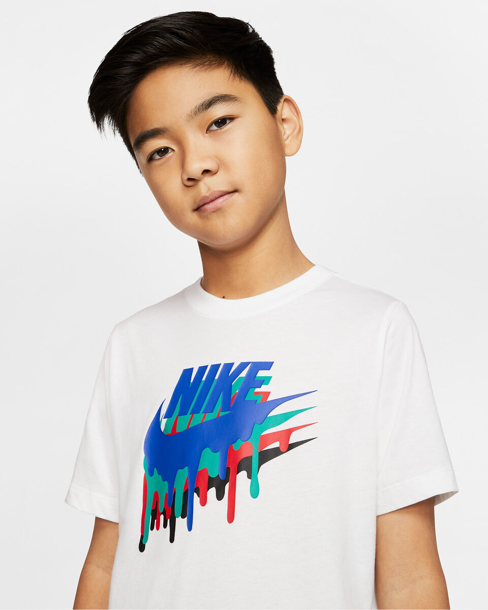 T-Shirt NIKE CRAYON JR S5165057 scatto 2