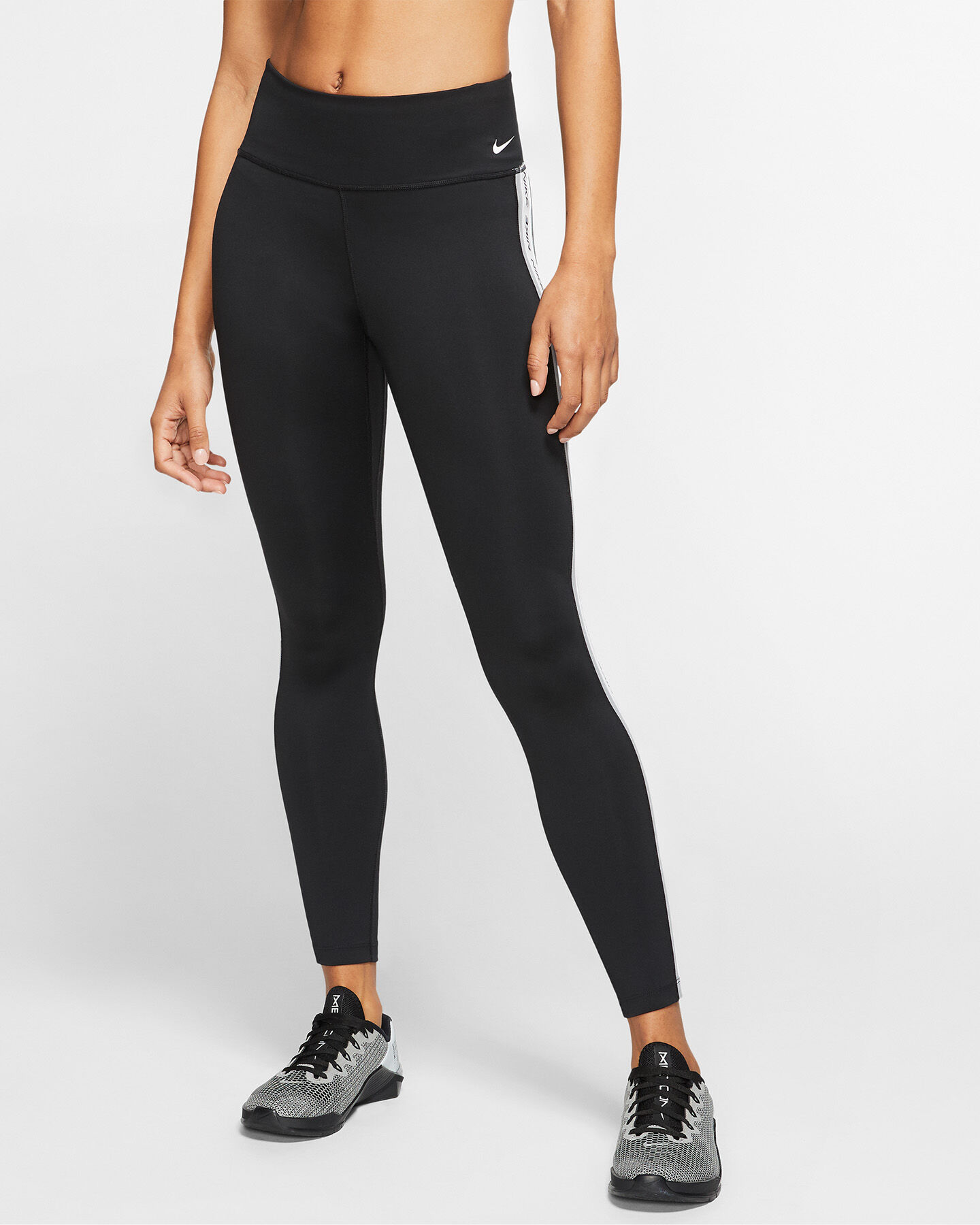 Leggings NIKE ONE 7/8 TAPE W S5172994 scatto 2