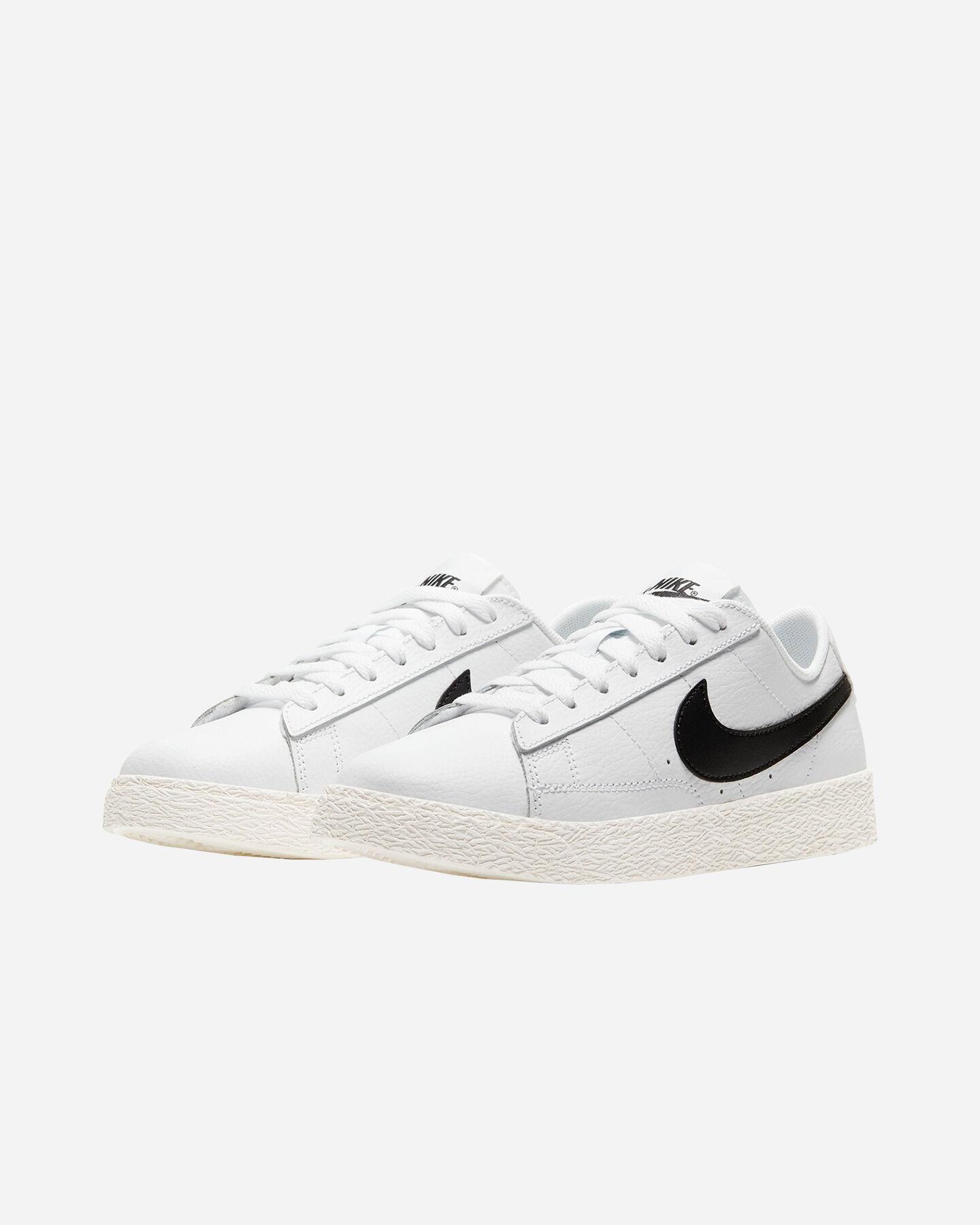 Scarpe sneakers NIKE BLAZER LOW JR GS S5230944 scatto 1