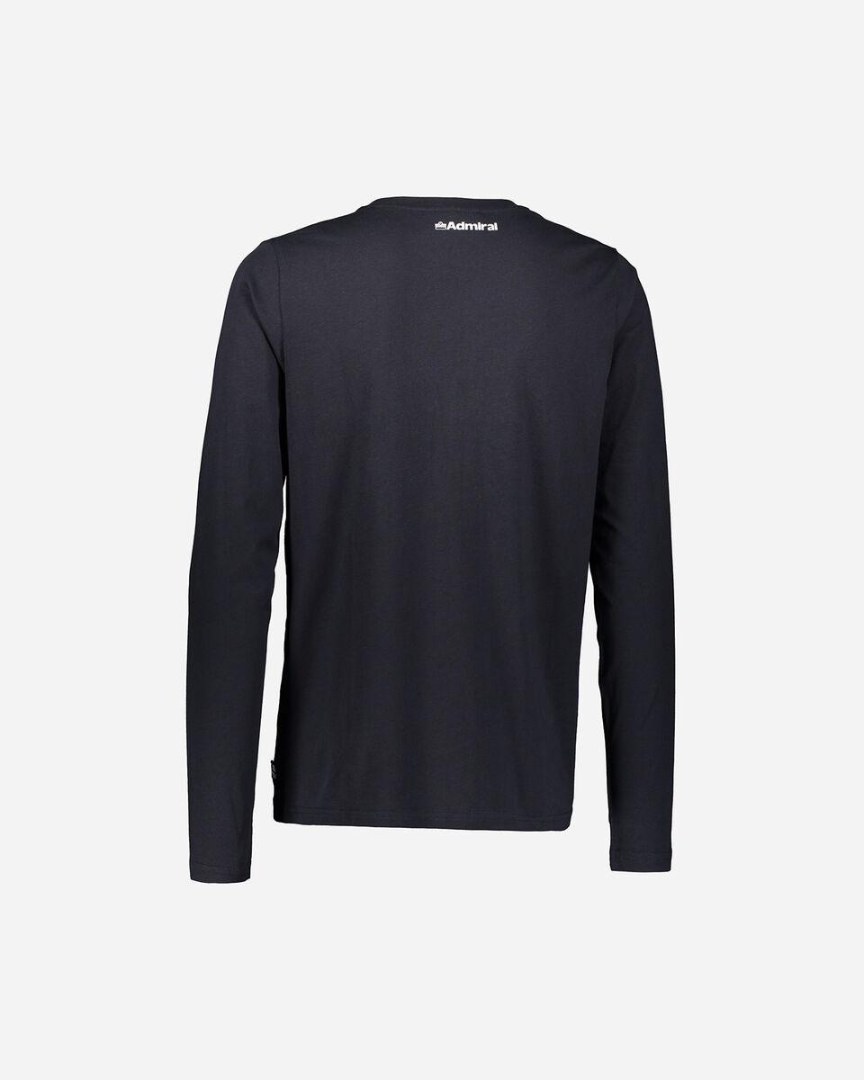 T-Shirt ADMIRAL COLLEGE M S4080649 scatto 1