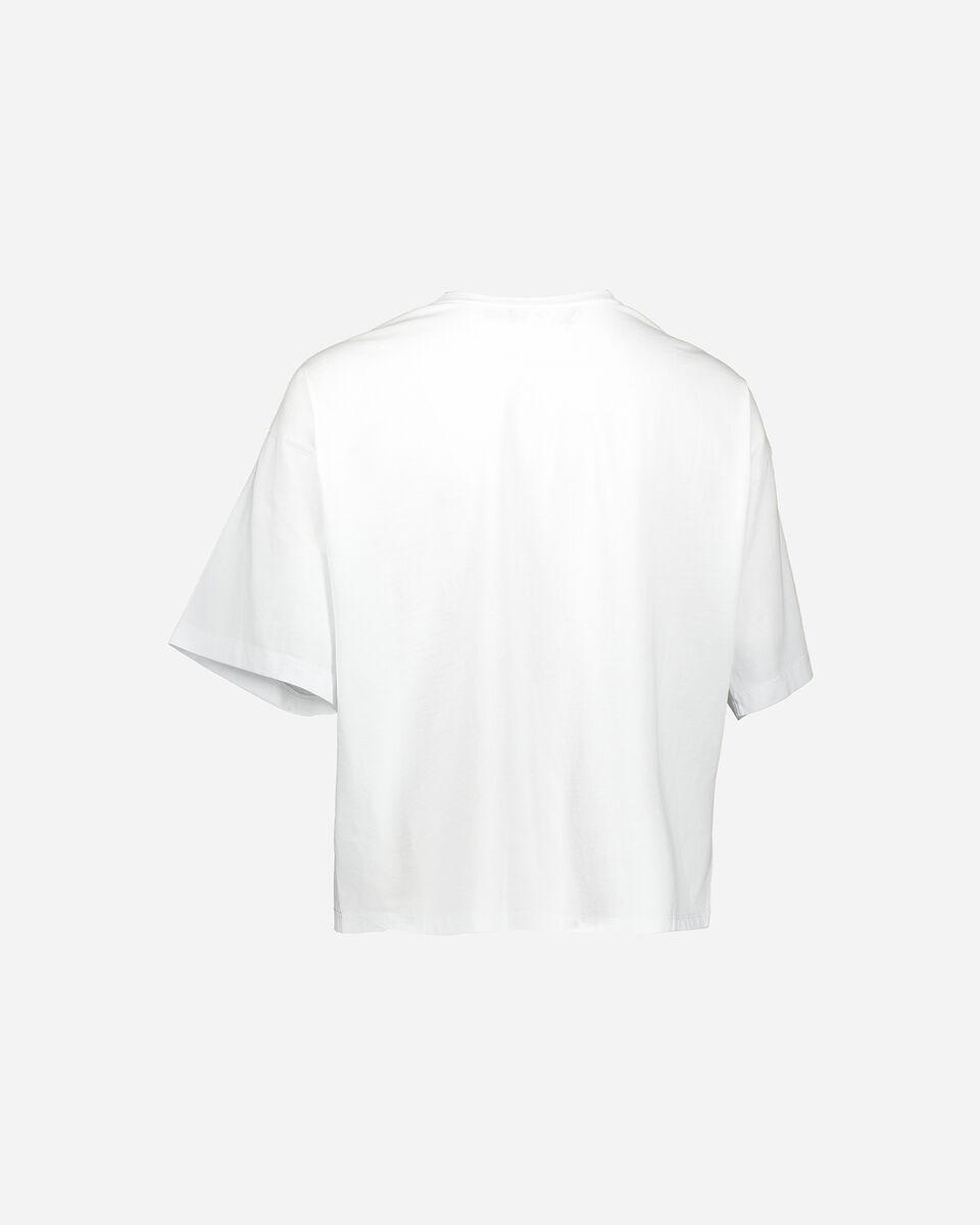 T-Shirt CONVERSE CROP CHUCK W S4068845 scatto 1