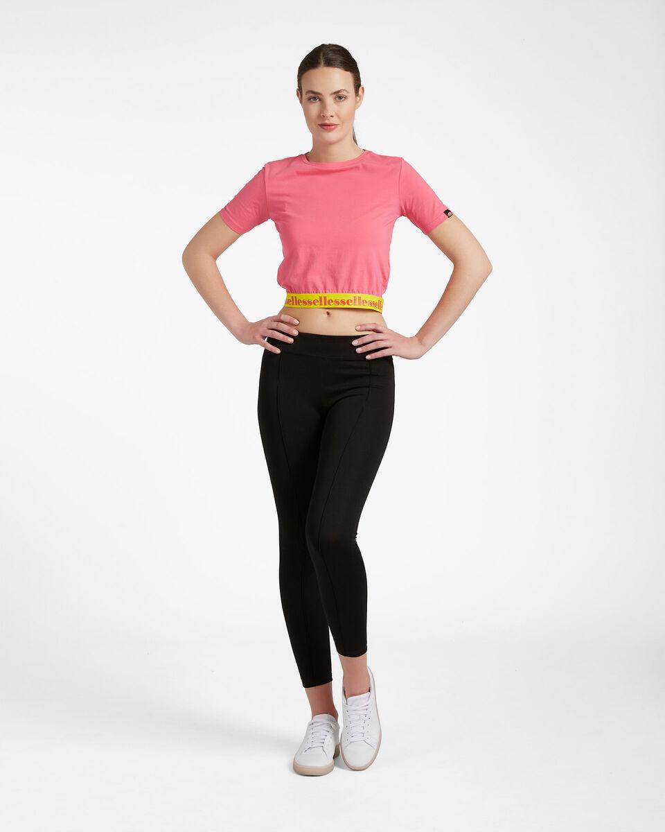 T-Shirt ELLESSE CROP ELASTIC W S4087993 scatto 1